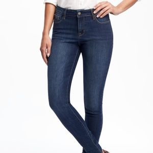 NWT OLD NAVY Mid-Rise Rockstar Super Skinny Jeans